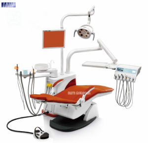 Hot Selling Dental Chair with Rotatable Unit Box pictures & photos