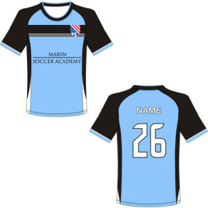 Custom Design Sublimated Soccer Tops for Team pictures & photos