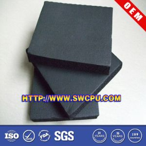 Dark Silicone Sponge Rubber Sheet pictures & photos