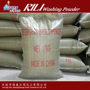 Low Density and Big Bubble 25kg Washing Powder to South America