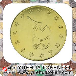 Custom Made Souvenir Coin in Antique Brass pictures & photos