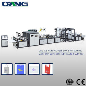 Full Automatic Non-Woven Fabrics Bag-Making Machine pictures & photos