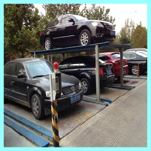 3 Levels Underground Residential Parking Lift pictures & photos