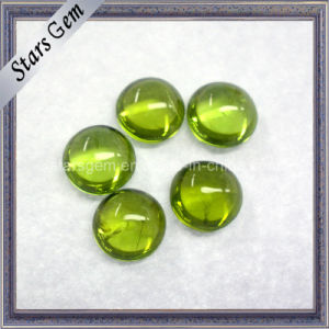Natural Peridot Stone for Jewelry pictures & photos