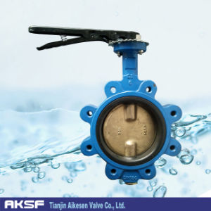 Lugged Butterfly Valve in Cast Iron with Handle (LT71X) pictures & photos