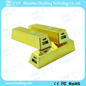 Gold Bar Design 2600mAh Power Bank (ZYF8032)