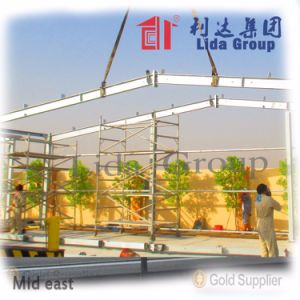 Light Prefabricated Steel Structure Warehouse in Europe pictures & photos