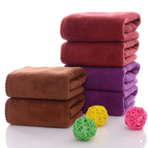 More Color Microfiber Square Hand Towel pictures & photos