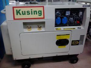 5kVA Protable Diesel Silent Welding Gererator/Solder Generator/Welding Genset/Solder Genset/Diesel Welding/Diesel Solder Engine (KW6700)