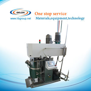 2 Liter Planetary Mixing Machine with Vacuum Pump and PLC Touch Panel Control for Lithium Battery Machine pictures & photos