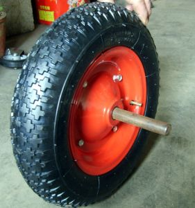 Wear-Resistant Pneumatic Rubber Wheel for Wheelbarrow pictures & photos