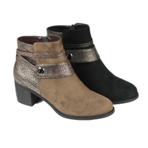 Ladies Shoes Warm Snow Ankle Boots pictures & photos