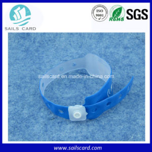 Long Range Reading UHF Rewritible RFID Bracelet pictures & photos