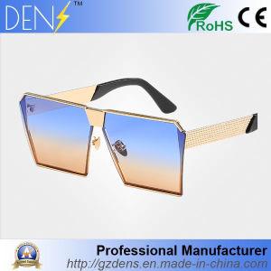 Flat Top Square Metal Mirror Lens Sunglasses pictures & photos