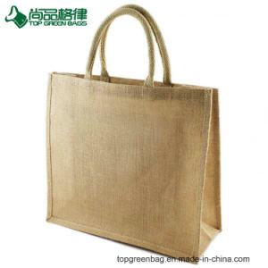 Hotsale Grocery Shopping Tote Jute Bags for Promotional pictures & photos