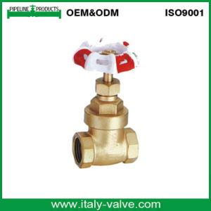 Precision Machining Forged Brass Gate Valve (AV4034) pictures & photos