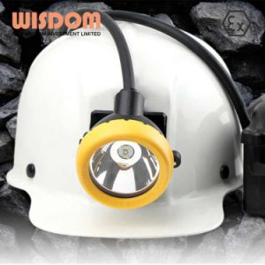 Wisdom Rechargeable Lithium Battery LED Miner Headlamp with Good Quality pictures & photos