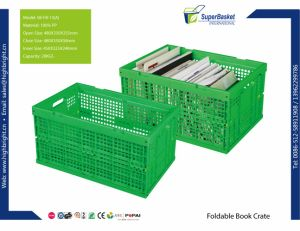Foldable and Stackable Plastic Crate for Potatoes pictures & photos