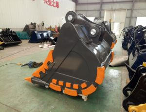 OEM R380 Excavator Rock Bucket for Digging Stone pictures & photos