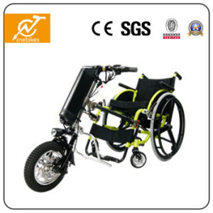 36V 350W Hub Motor Electric Wheelchair Handcycle with Lithium Battery pictures & photos