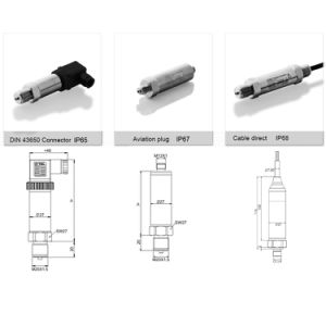High Stability Ex-Proof Compact Pressure Sensor with 4 20mA/ Hart/ RS485 Output pictures & photos