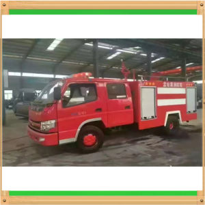 3000liters Water Tanker and 500liters Foam Tanker Fire Control Truck pictures & photos