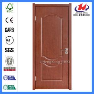 HDF Molded PVC Solid Wood Door (JHK-P15) pictures & photos