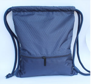 Waterproof Polyester Drawstring Backpack, Sports Bag pictures & photos