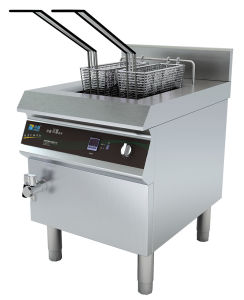 Ce Approved Kfc Appliance Large Capacity Induction Fryer pictures & photos