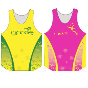 2017 New Design Custom 100% Polyester Dry Fit Sublimation Sports Tank Top for Man pictures & photos