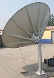 180 240 300 150 400 450cm C Band Satellite Steel Plate Solid Fiber Iron TV Digital HD Parabolic Paraboloid Outdoor Dish Antenna pictures & photos