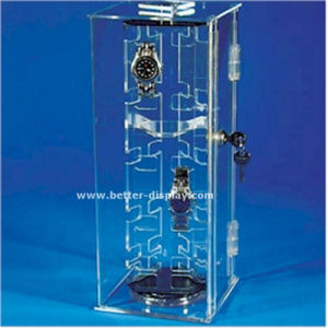 Acrylic Wall Watch Display Case Btr-F1037 pictures & photos