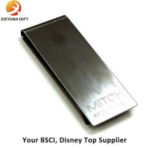 Cheap Wholesale Eagle Shape Customized Logo Money Clip with Spring pictures & photos