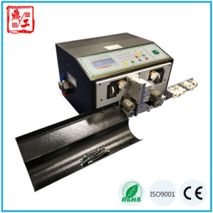 High Output Dg-220s Full Automatic Teflon Cable Cutting and Stripping Equipment pictures & photos