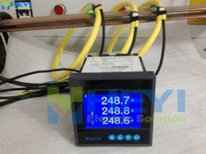 Flexible Rogowski Coil Rope CT Frc-420 Current Range 1-3000A with Oscilloscope Connector with 300mv pictures & photos