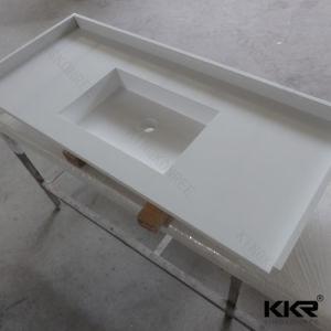 Precut Vanity Top Solid Surface Bathroom Countertop 0719 pictures & photos