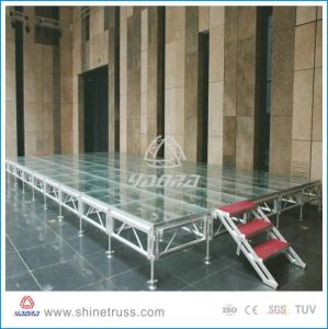 Hot Selling Aluminum Movable Wedding Stage pictures & photos