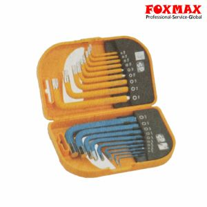 18PCS Long Arm Combo Hex Key Set HK-050 pictures & photos