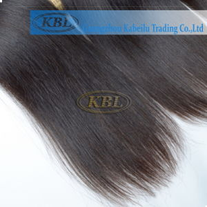 Full Cuticle Indian Human Hair Weft pictures & photos
