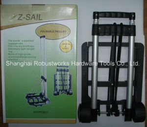 Portable Folding Aluminum Luggage Cart (HT030A) pictures & photos