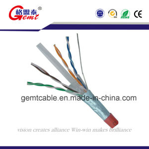 23AWG/4p Bare Copper Fluke Passed100m UTP CAT6 LAN Cable pictures & photos