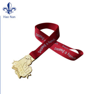 2017 Hot Sale Custom Sublimation Printing Polyester Medal Ribbon pictures & photos