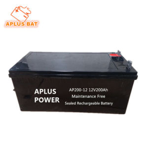 Audited Supplier for Fully Charged Solar Battery 12V 200ah pictures & photos