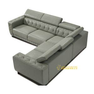 Modern Home Furniture L Shape Leather Sofa (L075) pictures & photos