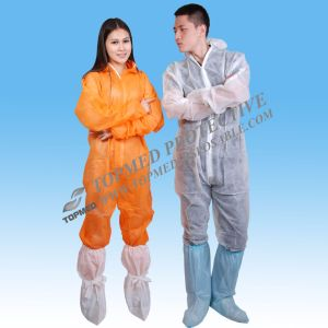 Nonwoven Fabric FDA CE ISO Cetificate Industrial Coverall pictures & photos