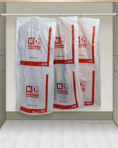 Disposable Plastic Poly Garment Bag on Roll pictures & photos