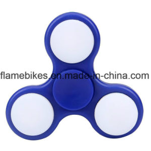 Glow Spinner Fidget Toy LED Light Tri Spinner with Hybrid Ceramic Spinner pictures & photos