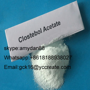 Steroid Powder 4-Chlorotestosterone Acetate Clostebol Acetate CAS: 855-19-6 pictures & photos