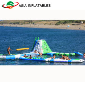Outdoor Inflatable Floating Water Park for Open Water Beach pictures & photos