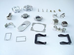 Stainless Steel Box Stamping Parts (ZX-S503) pictures & photos